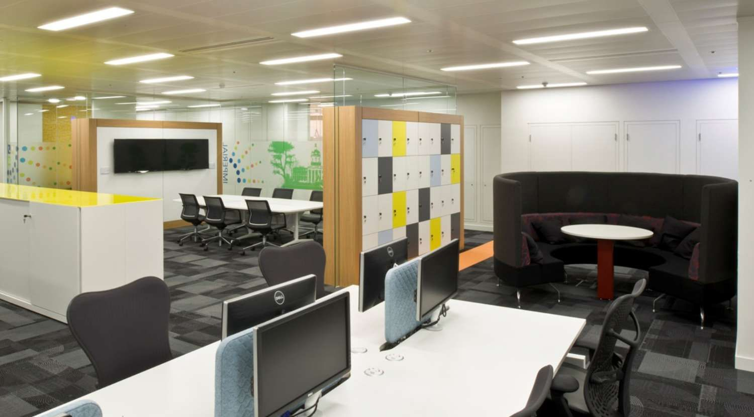 Office Design To Promote Activity Based Working Modern Office