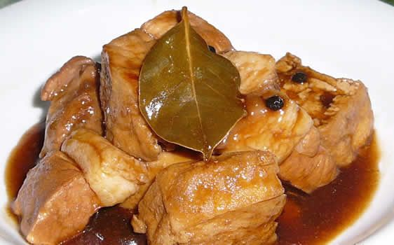 Pork adobo or adobong baboy considered to be one the most for Adobo filipino cuisine