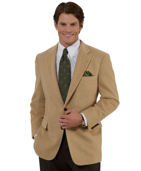 Men's Two-Button Camel Hair Sport Coat | Coats, Default and Sleeve