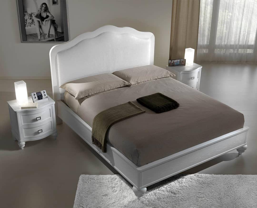 Camera da letto matrimoniale in legno di frassino spazzolato ...