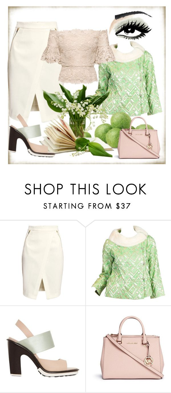 """""""Jaded"""" by bren-johnson ❤ liked on Polyvore featuring moda, H&M, Tod's e Michael Kors"""