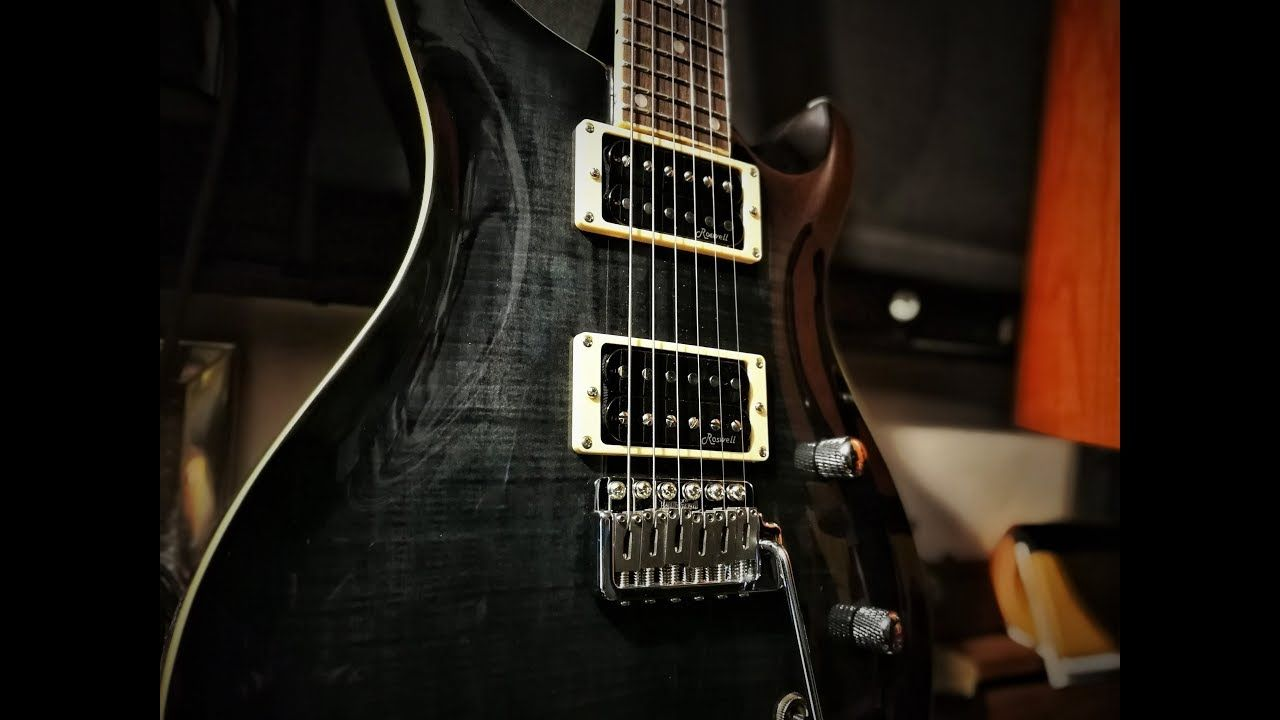 Harley Benton CST24T Black Flame (Unboxing and detailed review