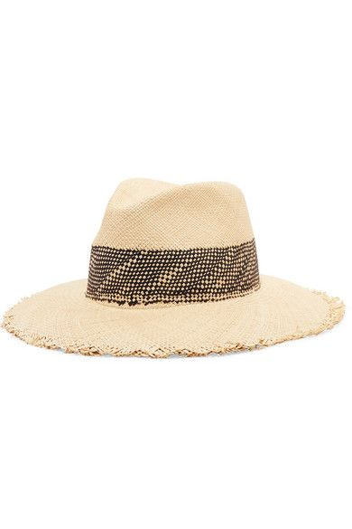 17246bf7 ShopStyle Collective rag & bone's Panama hat is purposefully frayed all  around the brim for an