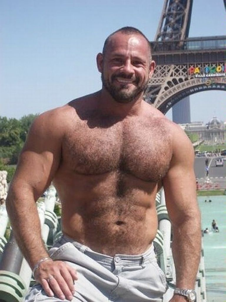 muscle Hairy daddy hunk