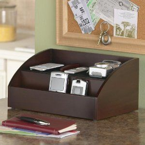 Charging Station And Desk Organizer For Handheld Electronics