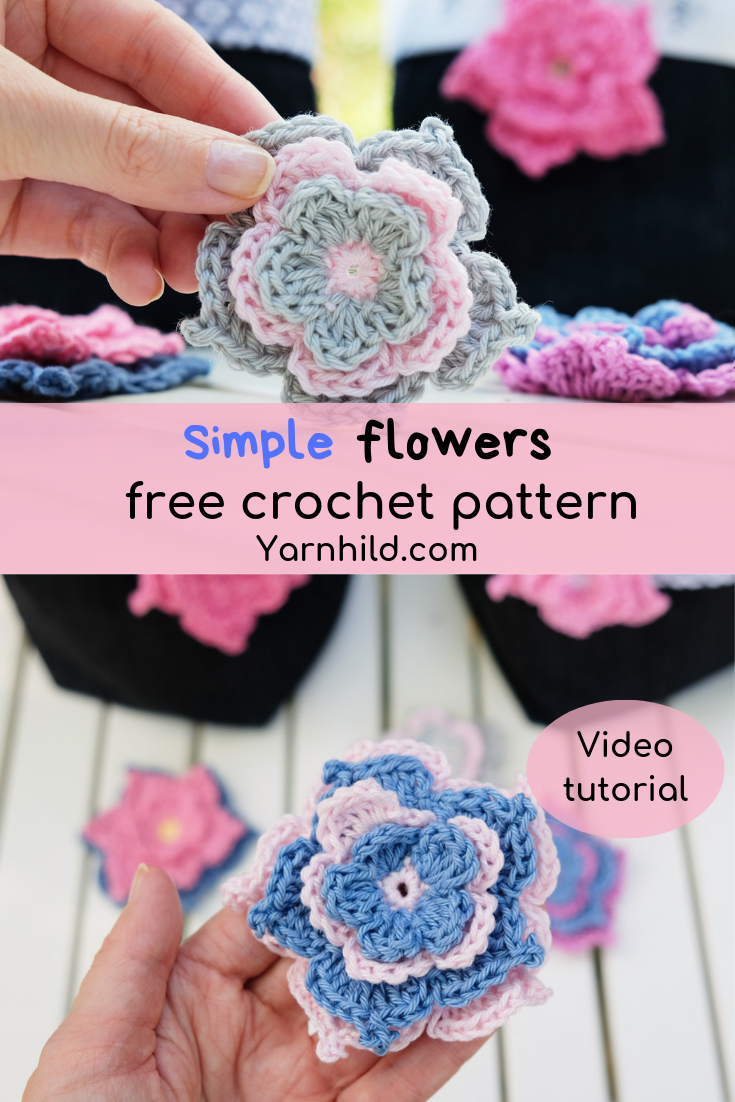 Crochet Spring Flower Bulb Doll Amigurumi Free Patterns | 1102x735