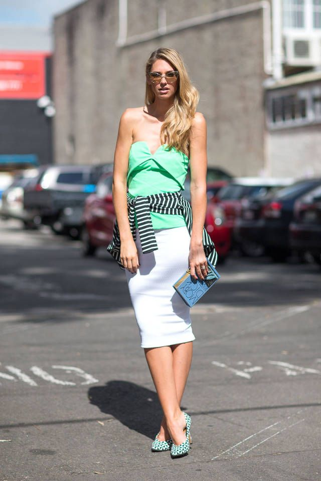 Street Style Australia Fashion Week Fall 2014 - Austrailian Fashion Week Fall Street Style - Harper's BAZAAR