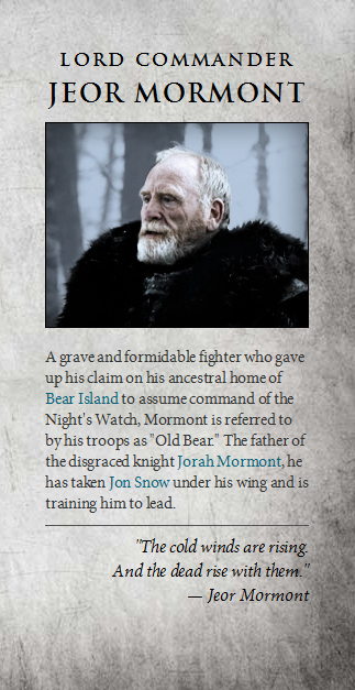 Photo Of Jeor Mormont For Fans Of Game Of Thrones Gameofthronesquotes Got Memes Got Characters Game Of Thrones Funny