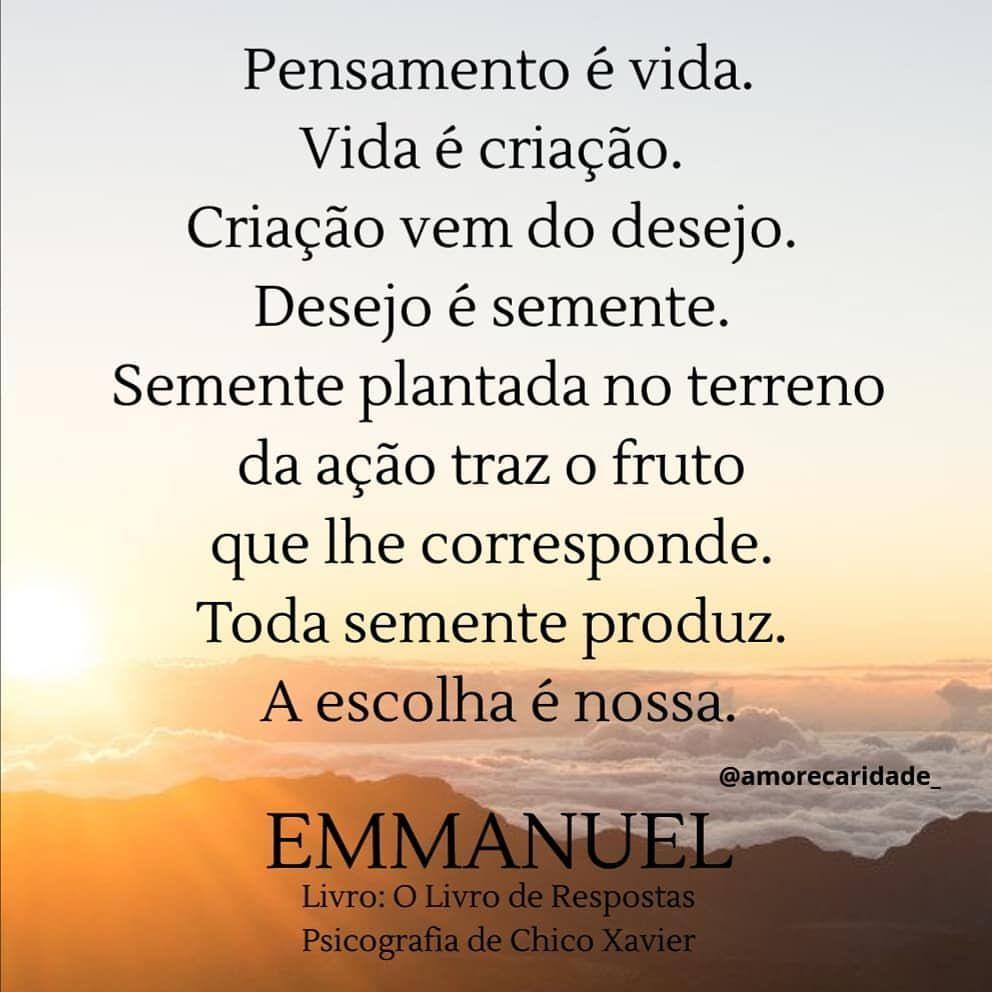 Emmanuel O Livro De Respostas Chico Xavier Chico
