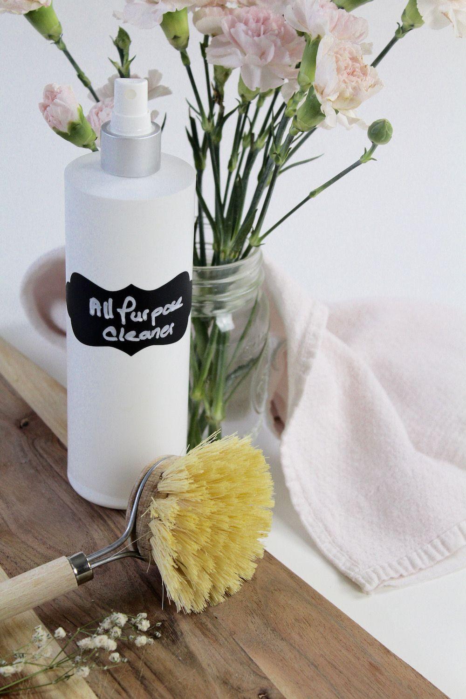 HOMEMADE ALLPURPOSE CLEANER, WITH A CITRUS TWIST Recipe