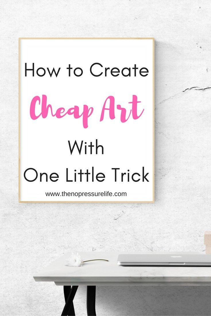 Easy and cheap wall decor ideas learn how to diy wall art with one