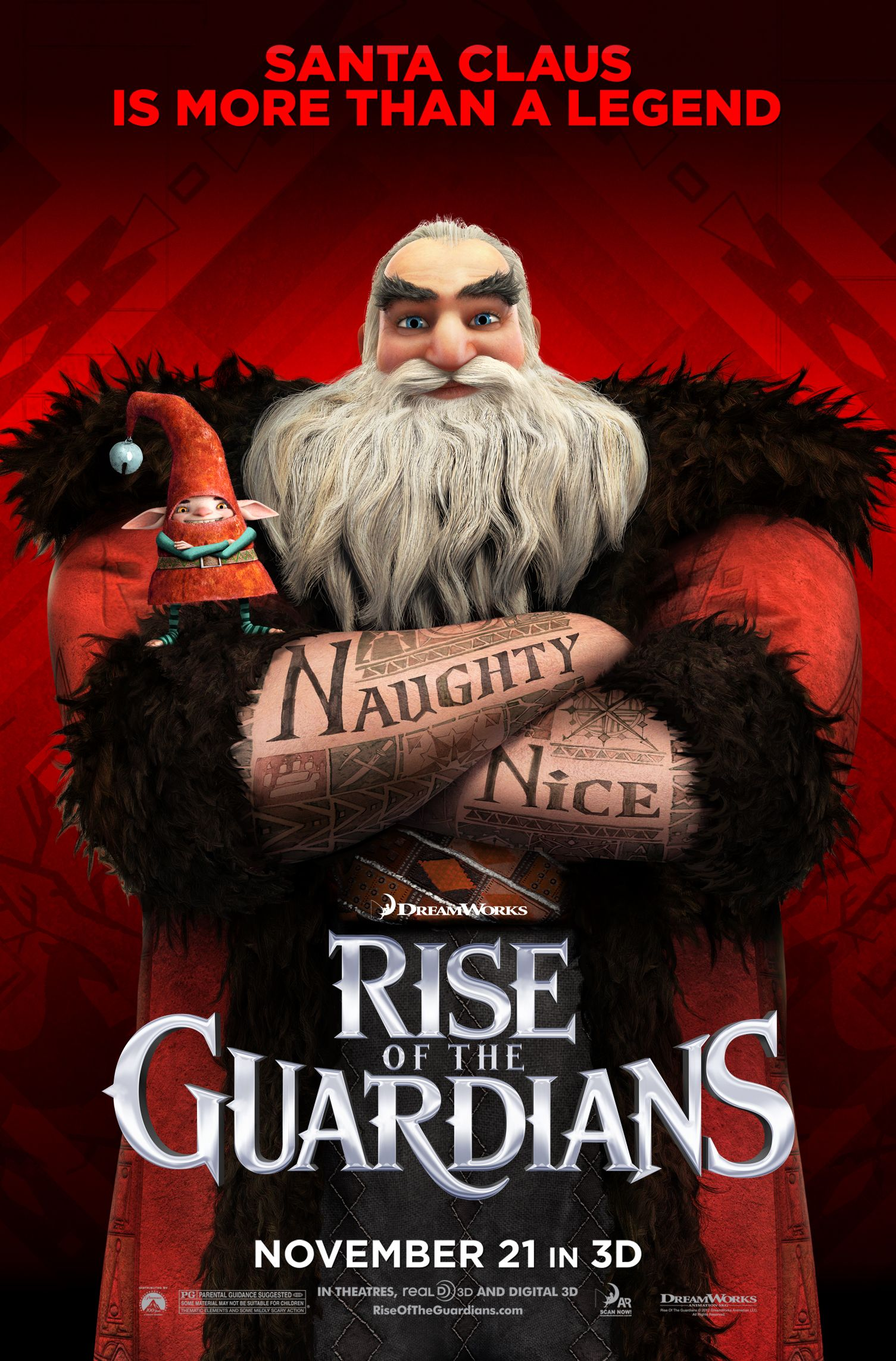 Santa Claus Is More Than A Legend Rise Of The Guardians Is Fantastic The Guardian Movie Rise Of The Guardians The Guardians Film