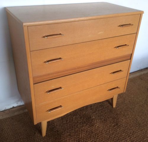 finest selection 9bf46 b054e Vintage Retro Lebus Chest of Drawers delivery available ...