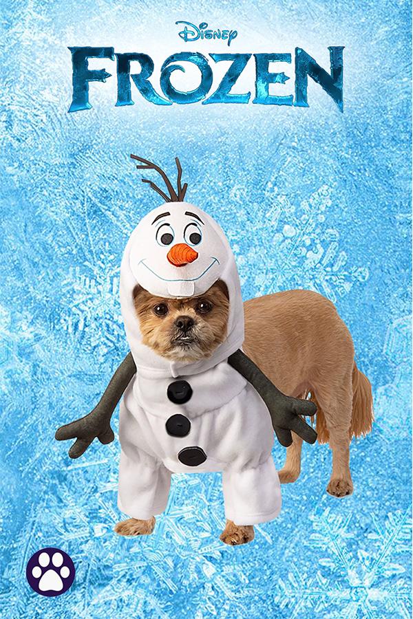 Frozen Olaf pet bandana Disney