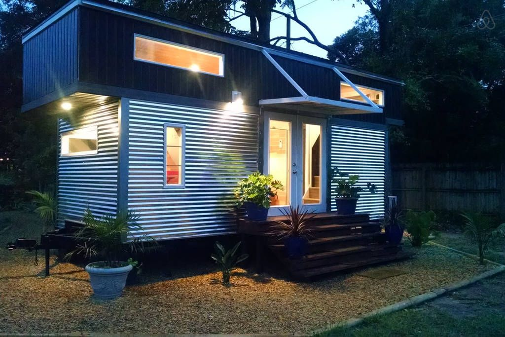 Harvard Designed Tiny Homes: Tiny House To Rent In Orlando, FL AirBnb