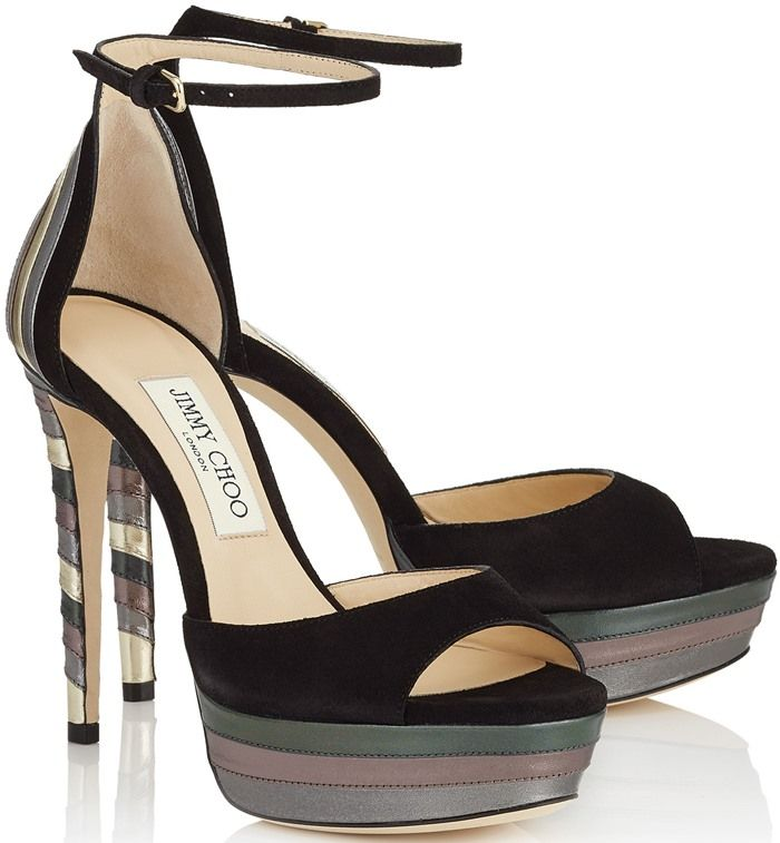 Platform Fb67gy Choo Suede Sandalsshoes 'max' Jimmy nP0Owk