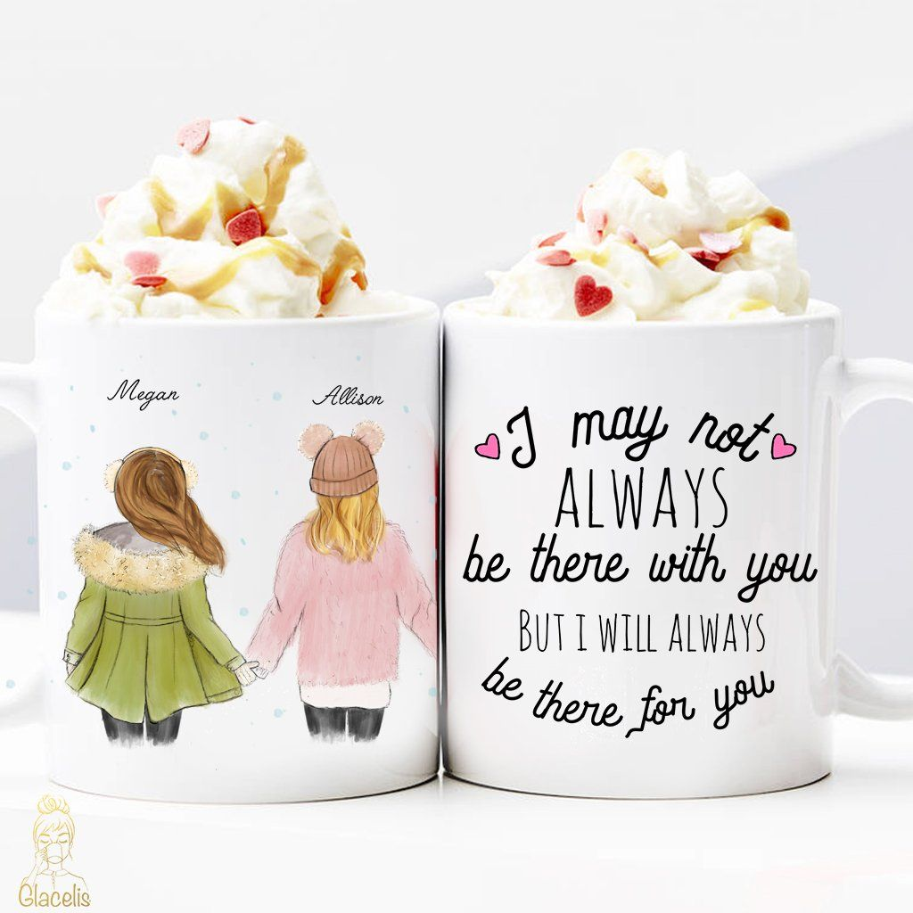Christmas Gift Ideas For Girl Best Friends: Personalized Gift For Friend Mug