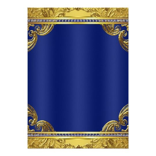 gold crown royal blue fancy prince baby