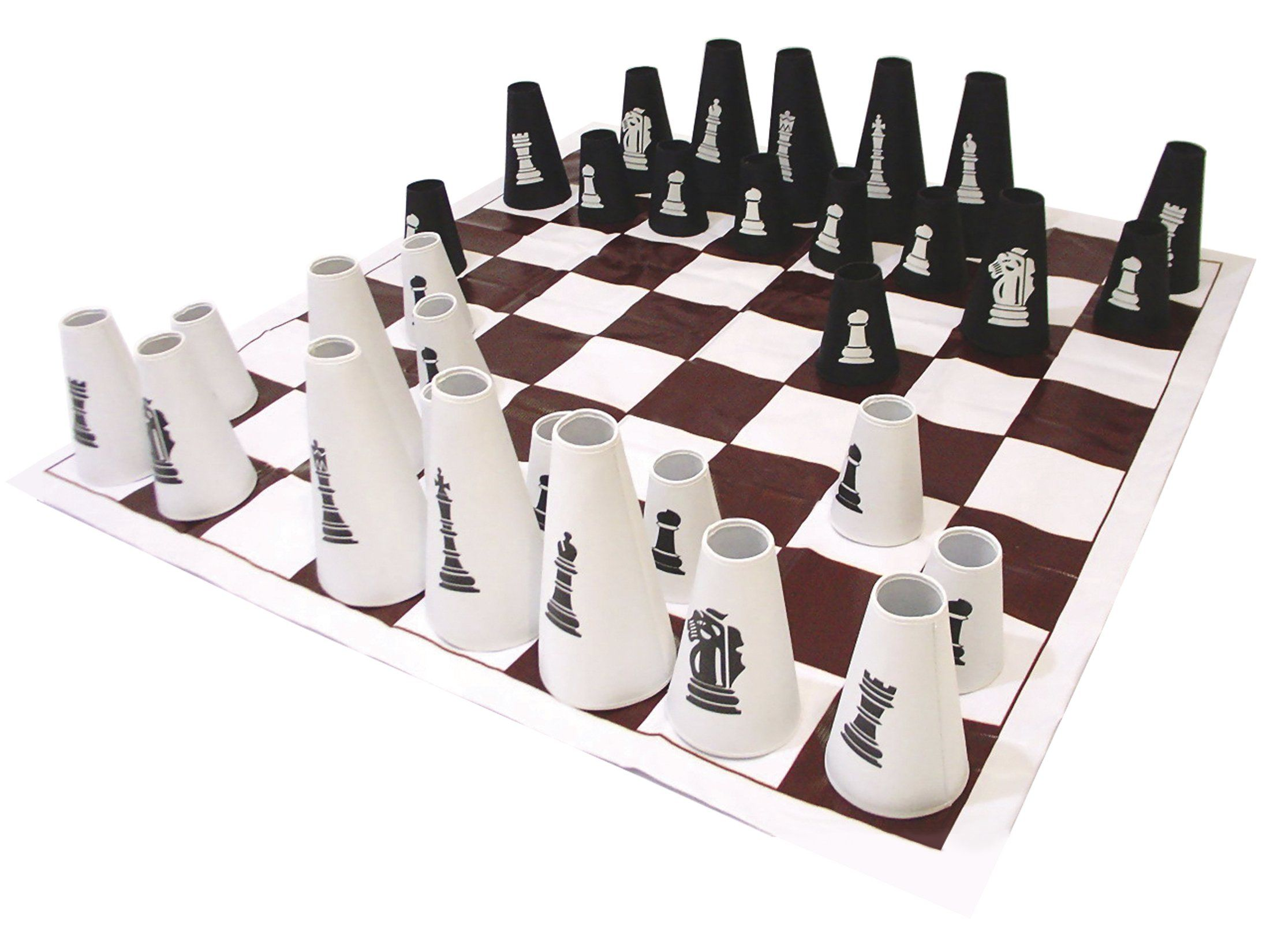 amazon com gonge chess checker set with cones toys u0026 games