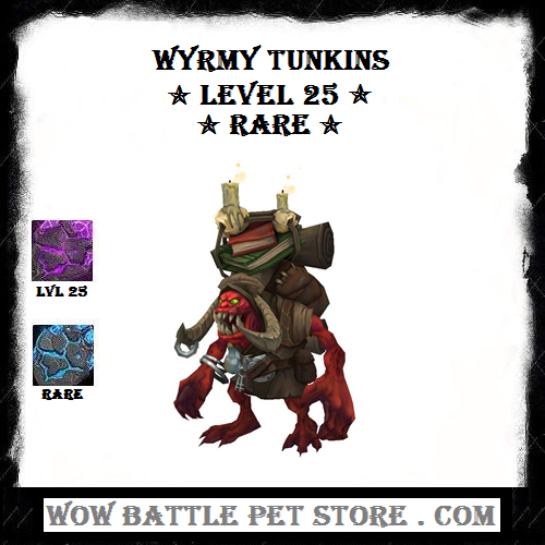 Wyrmy Tunkins Lvl 25 Wow Battle Warcraft Pets Pets For Sale