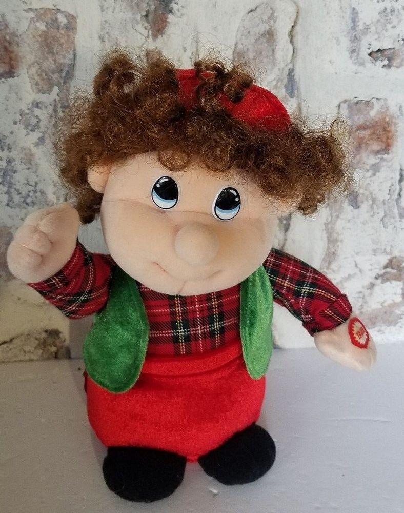 704a379ab3273 TL Toys Stuffed Plush Singing Dancing Christmas Boy  TLToys ...