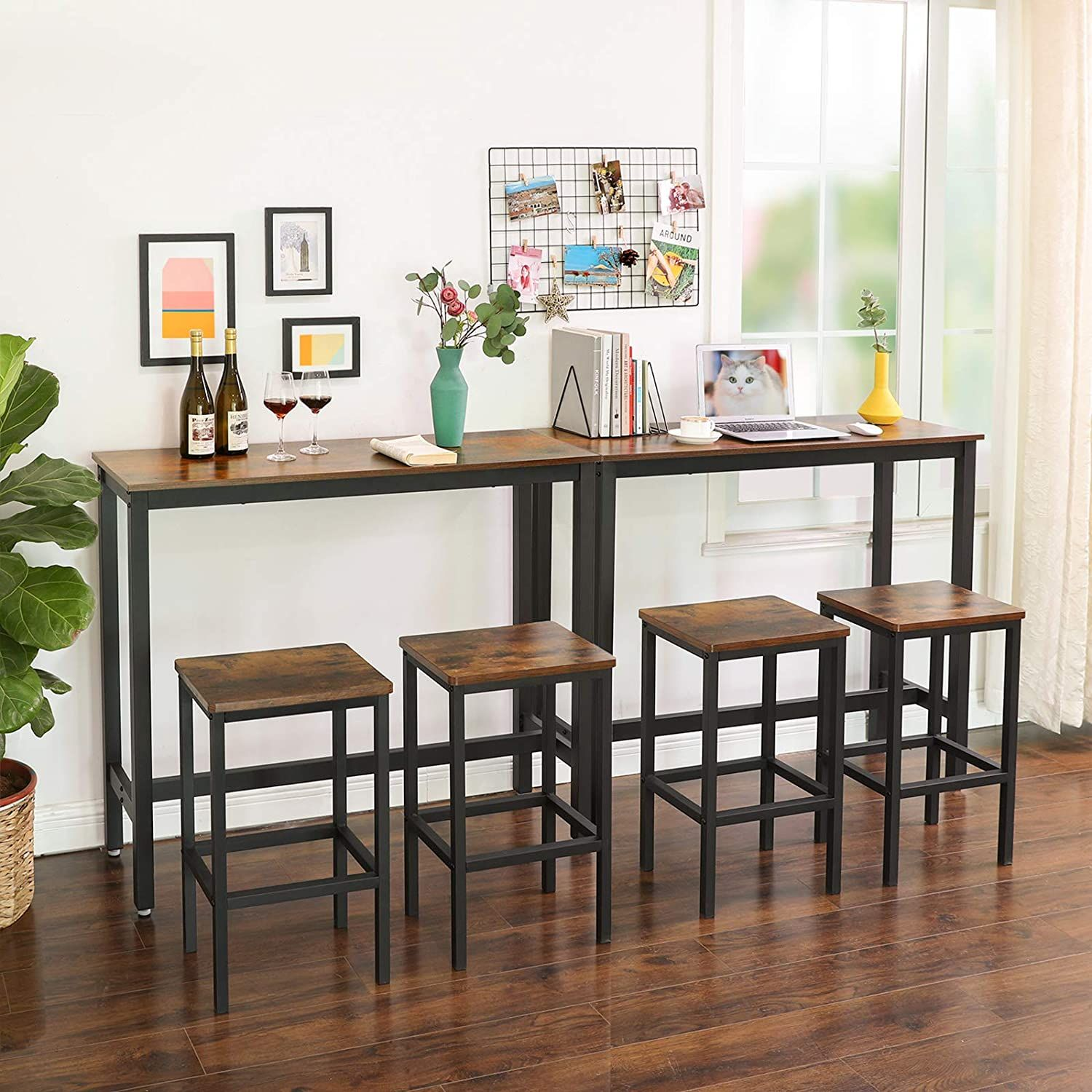 Industrial Narrow Bar Table For Sale Home Furniture In 2021 High Bar Table Dining Room Small Bar Table