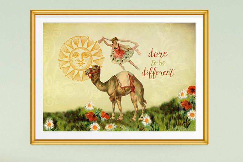 Gift for Dancer, Ballerina Art, Wall Art Prints, Inspirational Art ...