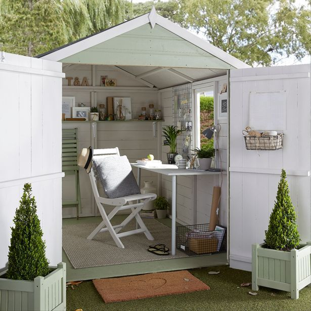 17 best images about shed plans on pinterest green roofs national trust and wood storage - Garden Sheds B Q