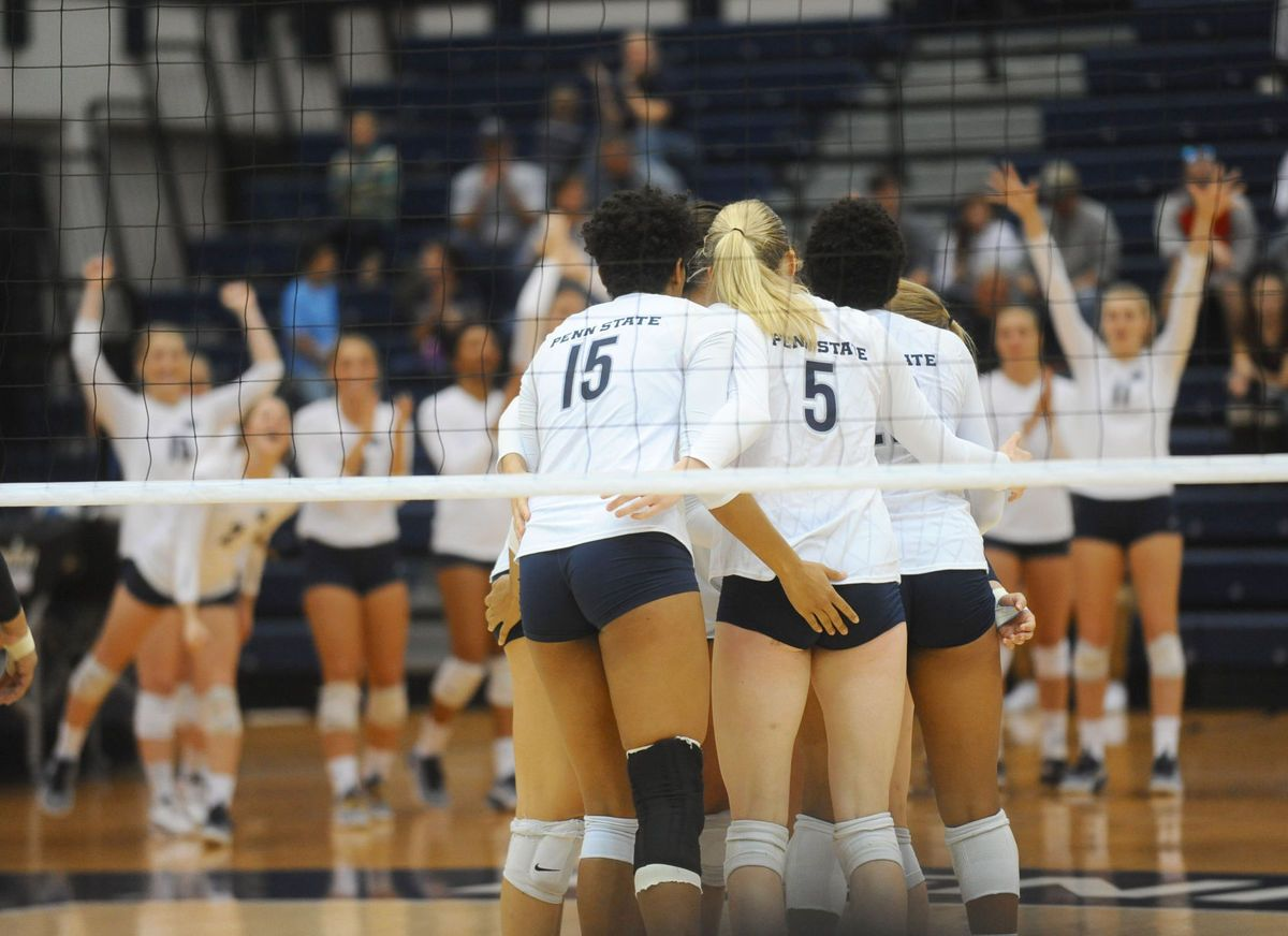 Women S Volleyball Iowa Psu Cheers Women Volleyball Volleyball Volleyball News
