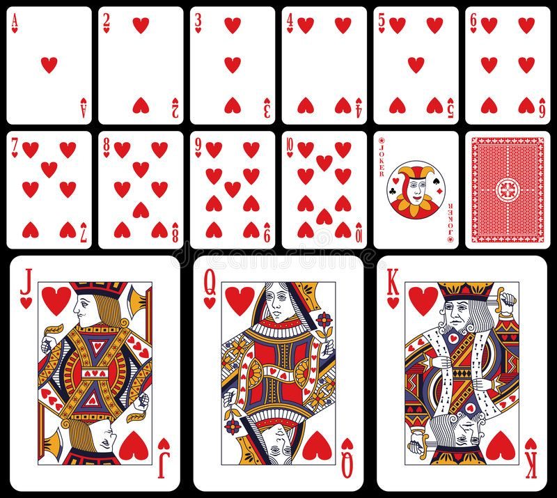 Image Result For Classic Deck Of Cards Card Illustration