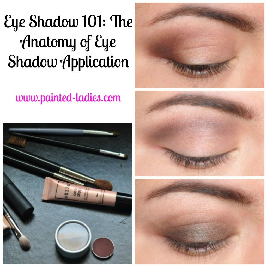 Breaking Down Beauty The Anatomy Of Eyeshadow Shapes Eye Makeup