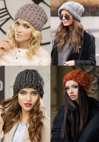 961331ae325 Slouchy Knitted Beanie Hat -Buy wholesale knit wool beanie cap hat