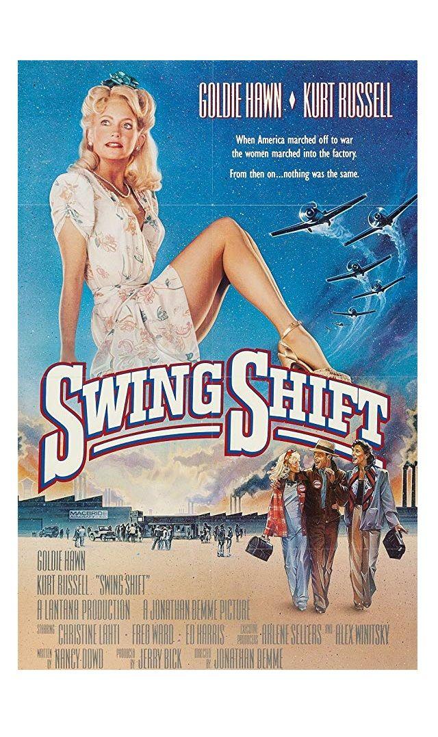 """""""Swing Shift"""" movie still, 1984. L to R Holly Hunter"""