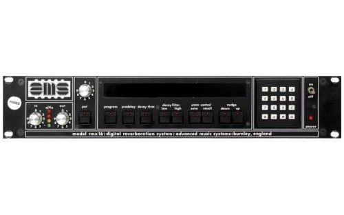 AMS RMX16 Reverb Audio mixer, Music instruments