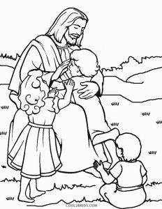 Free Printable Jesus Coloring Pages For Kids | Cool2bKids ...