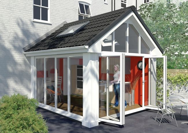 Solid Roof Conservatories Vivaldi Conservatories Gable House House Extension Design Garden Room Extensions