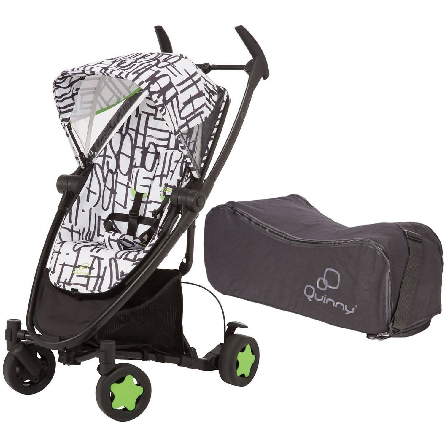 Quinny Zapp Xtra Folding Seat With Travel Bag Kenson