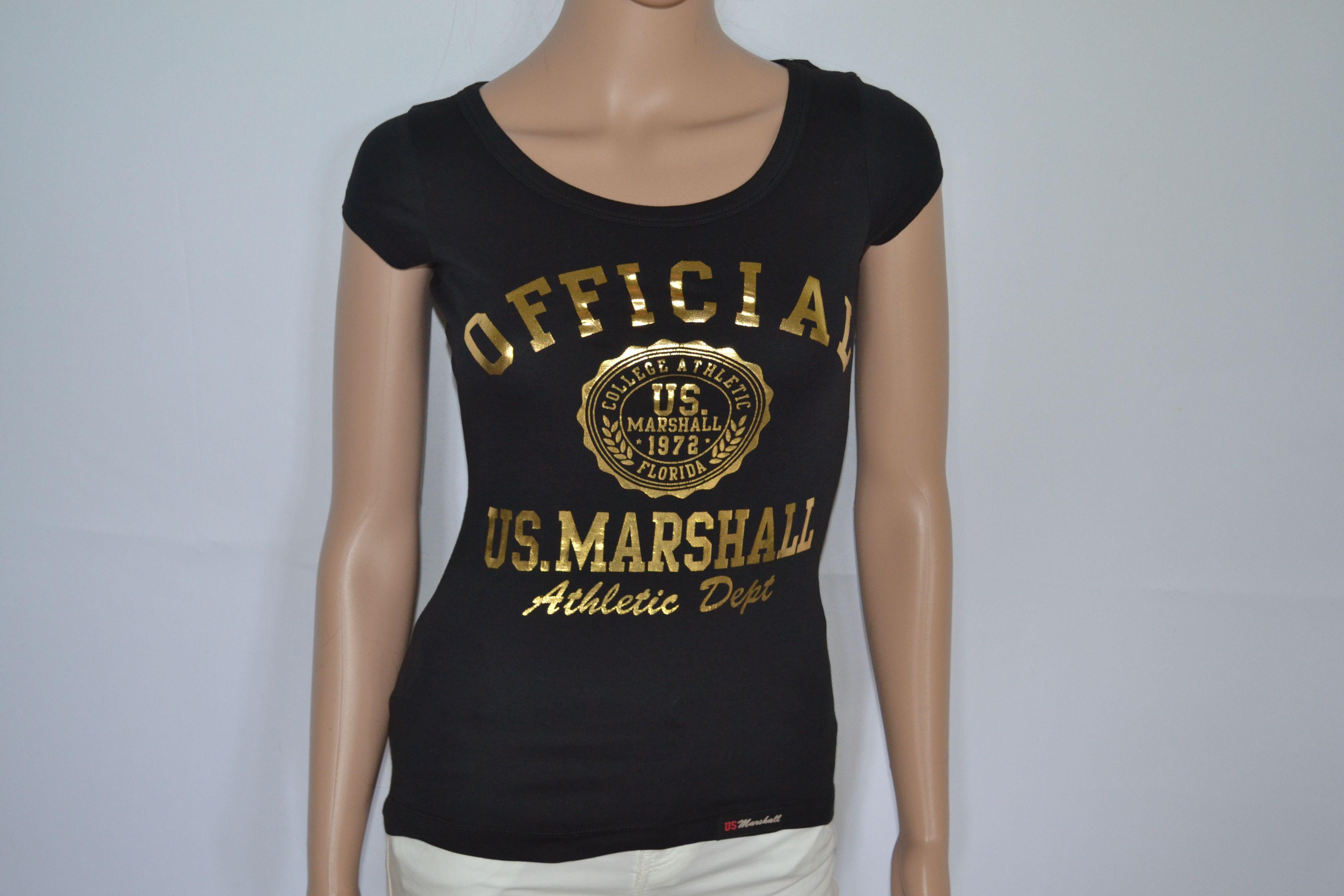 T shirt US Marshall femme neuf avec étiquette, me demander