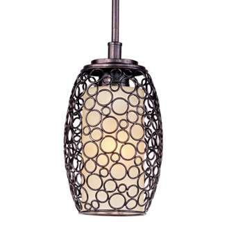 "View the Maxim 91340 1 Light 7"" Wide Pendant from the Meridian Collection at LightingDirect.com."