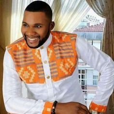 Image result for modele pagne africain homme | African men fashion, African shirts, African ...
