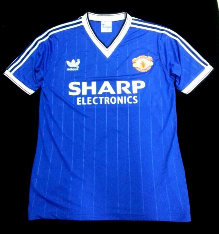 3d34b537b Man Utd 1983 Third Shirt
