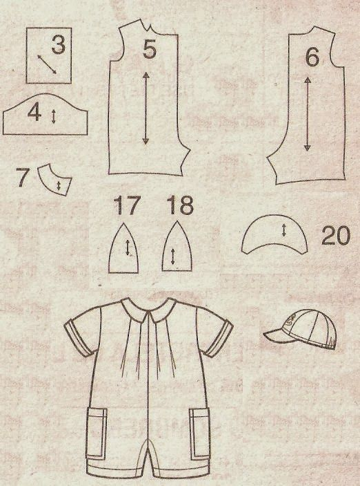 Feito a Mão por Juliana Melo: Ref: 127 - Molde de vestidos infantis ...