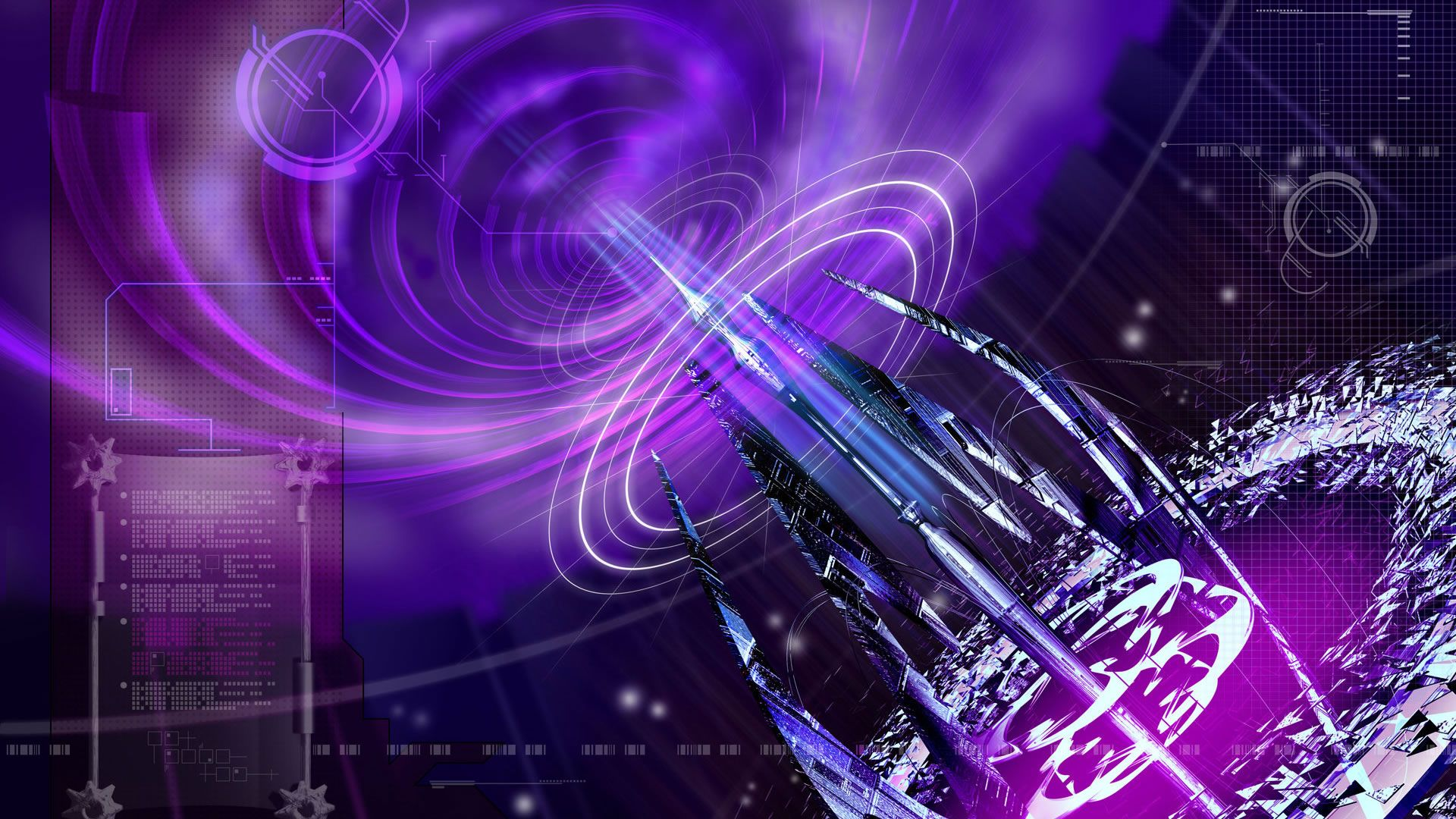 Black And Purple Abstract Widescreen Hd Wallpaper 512: Purple Wallpaper Free: Purple Abstract Wallpaper