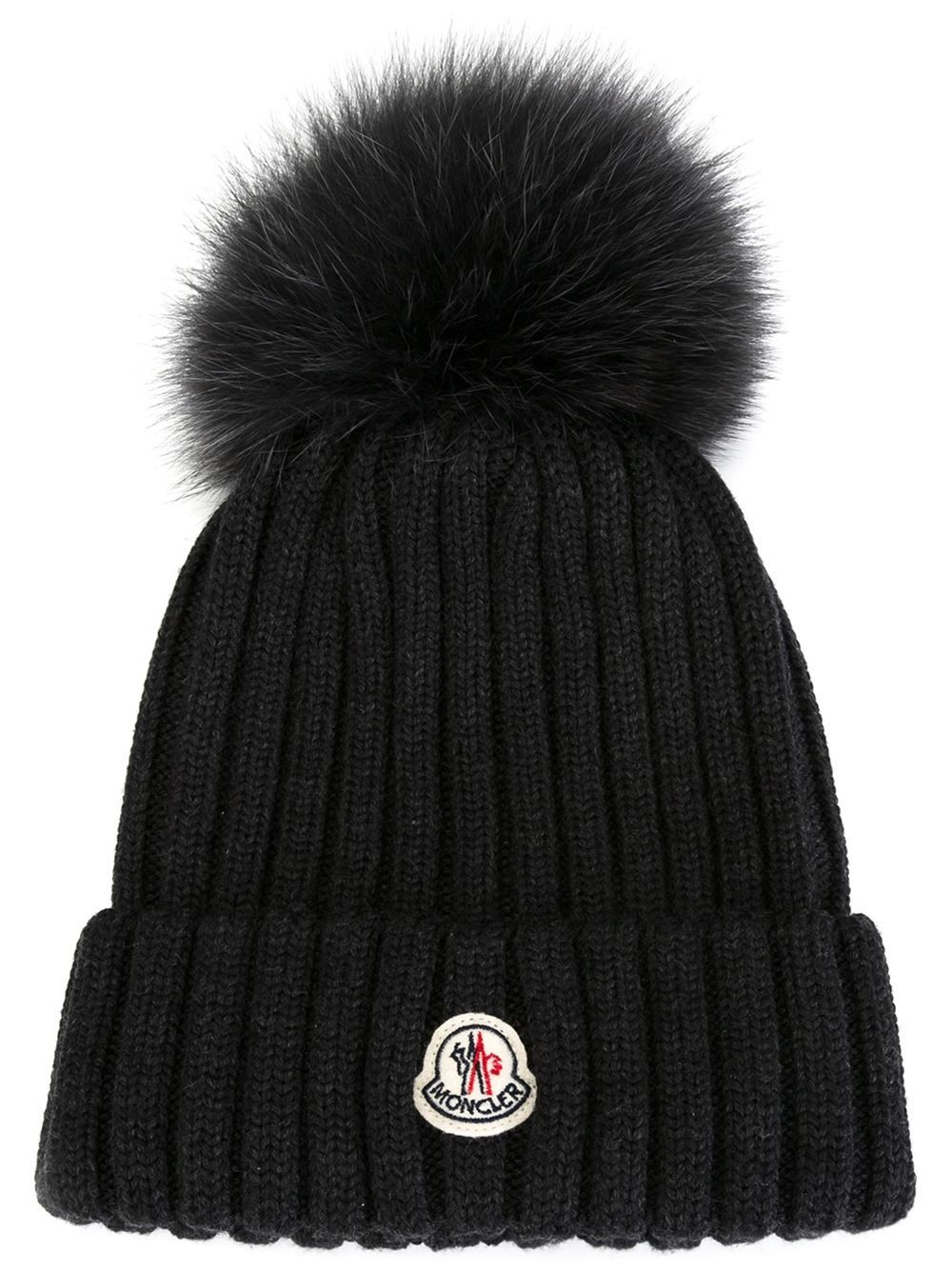 e4e100cb469 moncler  wool  hats  fur  black  newin  woman  fashion www.jofre.eu ...