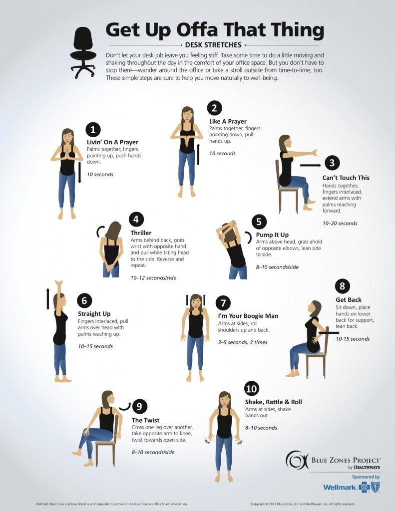 Simple Tips For Staying Healthy At Your Desk Job Desk Workout How To Stay Healthy Chair Pose Yoga