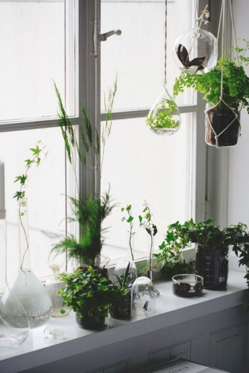 Ways To Make A Beautiful Home With Flowers On Window Sills Ideas 15 Window Sill Decor Window Sill Decor