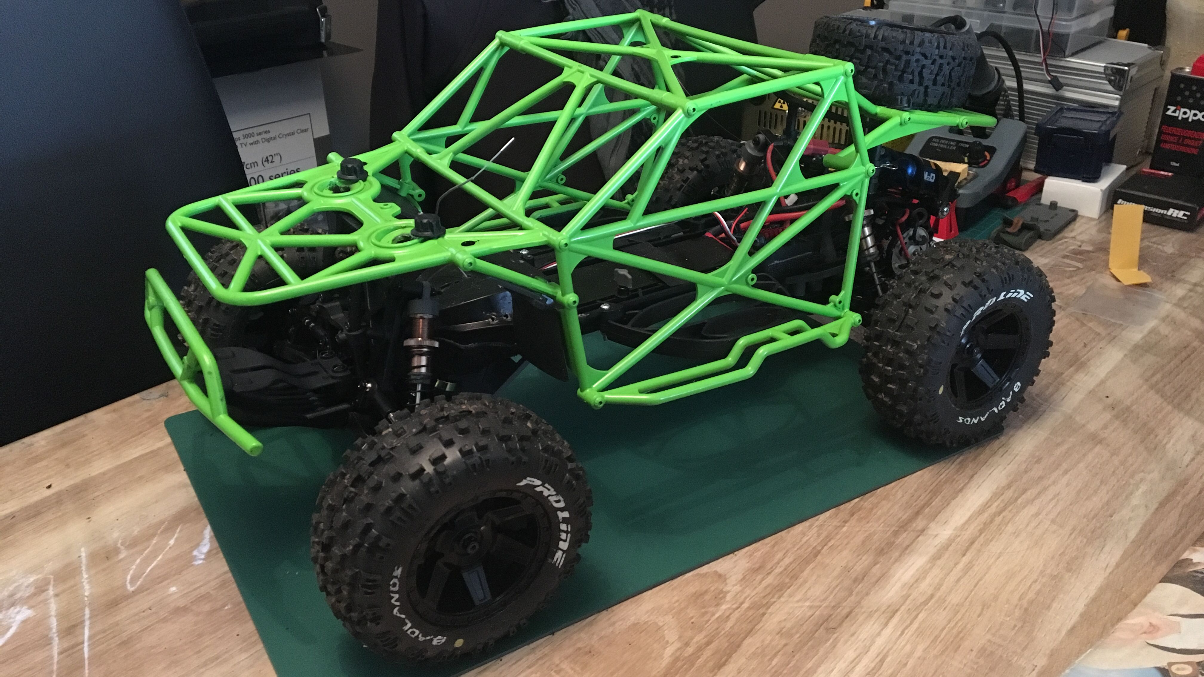 Custom Roll Cage Roll Cage Chevy Trucks Ecx Torment