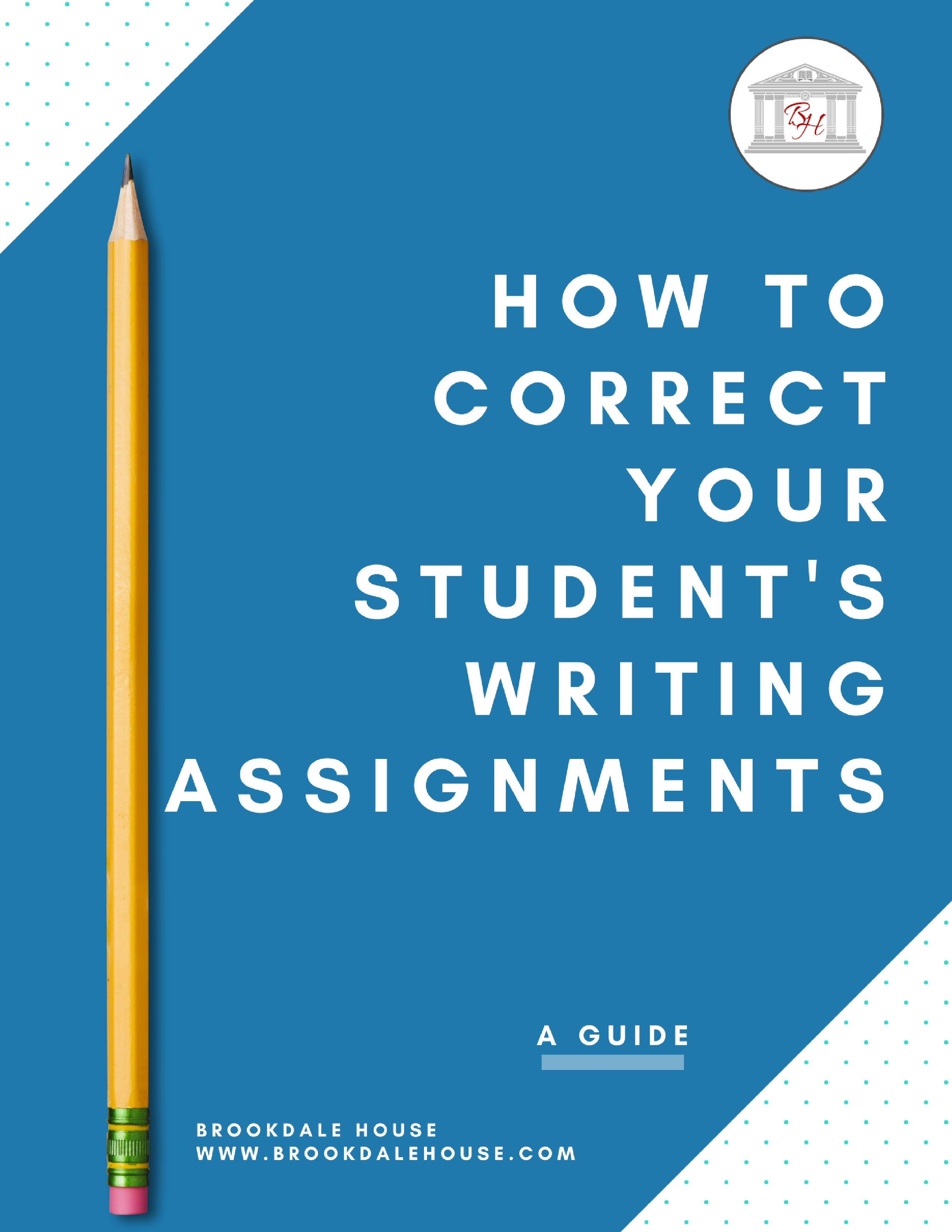 Free How To Correct Your Student S Writing Assignments