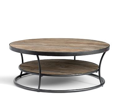Exceptionnel Bartlett Reclaimed Wood Coffee Table. Coffee Table Pottery BarnReclaimed ...