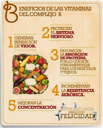 Alimentos con vitaminas del complejo b